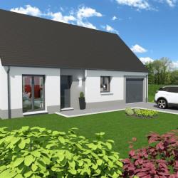 Maison  4 pièces + Terrain  500 m² Neufchâtel-en-Bray
