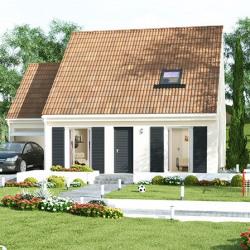Maison  4 pièces + Terrain  600 m² Darvault