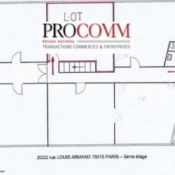 Location Bureau Paris 15ème 13 m²