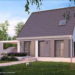 Maison  4 pièces + Terrain  464 m² Camon