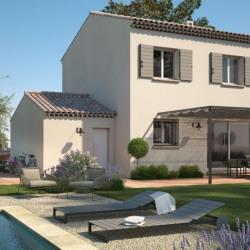 Maison  4 pièces + Terrain  750 m² Saint-Martin-de-Crau