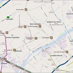 Location Local d'activités Colombes 17178 m²