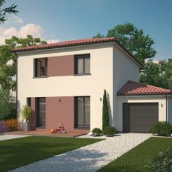 Maison  2 pièces + Terrain  450 m² Morancé