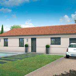 Maison  3 pièces + Terrain  900 m² Endoufielle