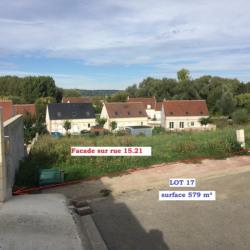 Vente Terrain Noyon 579 m²