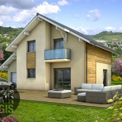 Maison  4 pièces + Terrain  479 m² Gilly-sur-Isère