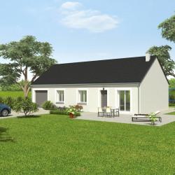 Maison  4 pièces + Terrain  457 m² Aunay-sous-Crécy