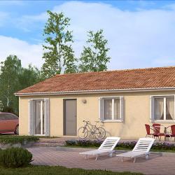 Maison  4 pièces + Terrain  600 m² La Lande-de-Fronsac