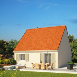 Maison  2 pièces + Terrain  528 m² Aschères-le-Marché