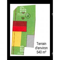 Vente Terrain Chartres 540 m²