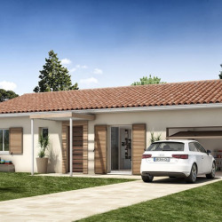 Maison  4 pièces + Terrain  400 m² Aussillon
