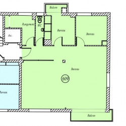 Vente Bureau Rouen 73,77 m²