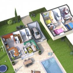 Maison  4 pièces + Terrain   m² Drap