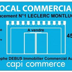 Vente Local commercial Domérat 450 m²