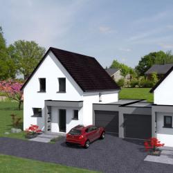 Maison  5 pièces + Terrain  500 m² Wittisheim
