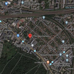 Location Bureau Versailles 1455 m²