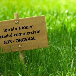 Location Terrain Orgeval 400 m²