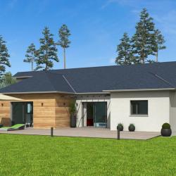 Maison  4 pièces + Terrain  600 m² Bordes