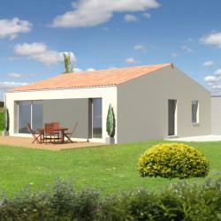 Maison  3 pièces + Terrain  488 m² Benon