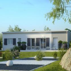 Maison  3 pièces + Terrain  369 m² Blain
