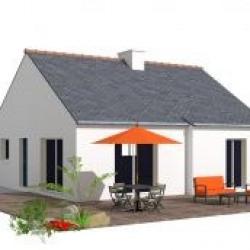 Maison  4 pièces + Terrain  770 m² Rosporden