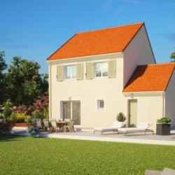 Maison  3 pièces + Terrain  861 m² Courgent