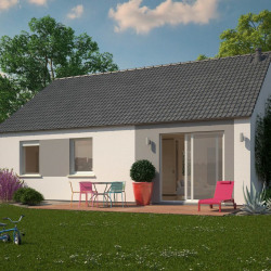 Maison  4 pièces + Terrain  500 m² Sacy-le-Grand