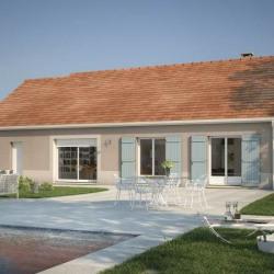 Maison  4 pièces + Terrain  775 m² Thury