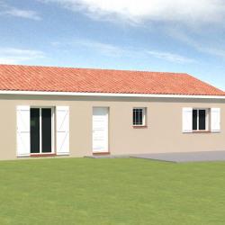 Maison  4 pièces + Terrain  600 m² Montbeton