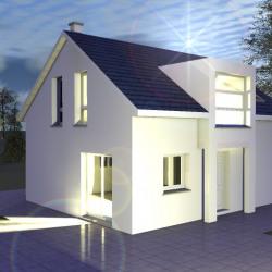 Maison  5 pièces + Terrain  500 m² Oberhergheim