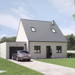 Maison  3 pièces + Terrain  495 m² Pernay