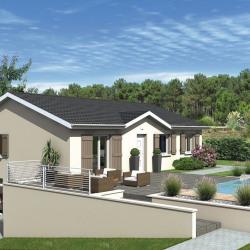 Maison  4 pièces + Terrain  610 m² Montalieu-Vercieu