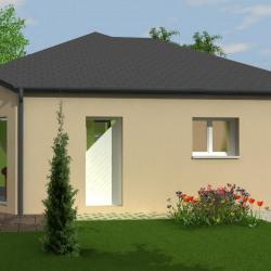Maison  4 pièces + Terrain  517 m² Flavin