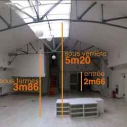 Location Local d'activités Gentilly 476 m²