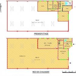 Location Local d'activités Aubervilliers 1462 m²