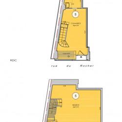 Location Local commercial Paris 8ème 44 m²