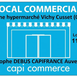 Location Local commercial Vichy 110 m²
