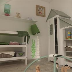 Maison  3 pièces + Terrain  1200 m² Gommecourt