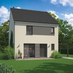 Maison  4 pièces + Terrain  400 m² Reims