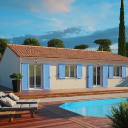 Maison  4 pièces + Terrain  650 m² La Lande-de-Fronsac