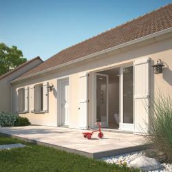 Maison  5 pièces + Terrain  670 m² Auneuil