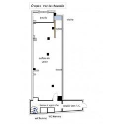 Location Local commercial Saint-Dizier 309 m²