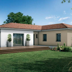 Maison  5 pièces + Terrain  1300 m² Monbrun