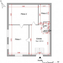 Location Local commercial L'Arbresle 72 m²