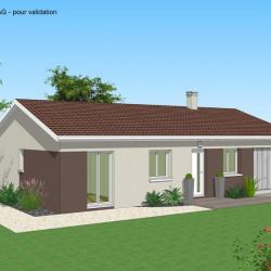 Maison  4 pièces + Terrain  186 m² Pia