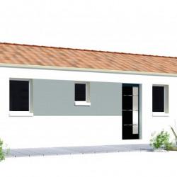 Maison  4 pièces + Terrain   m² Drain