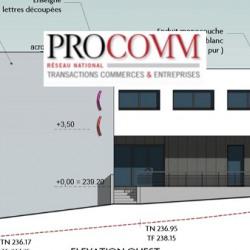 Location Bureau Peltre 119 m²