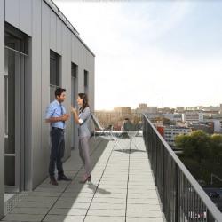 Location Bureau Paris 20ème 6438 m²