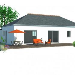 Maison  4 pièces + Terrain   m² Plouaret