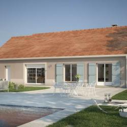 Maison  4 pièces + Terrain  548 m² Germigny
